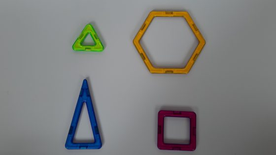 magnetic building blocks - the different parts