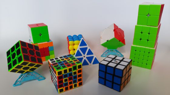 Different types of cubes